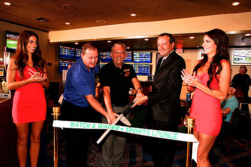Grand Opening Railroad Pass Sports Book