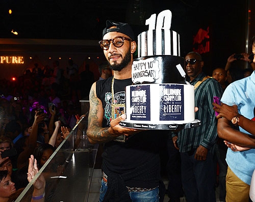 Swizz Beatz Cake PURE Nightclub