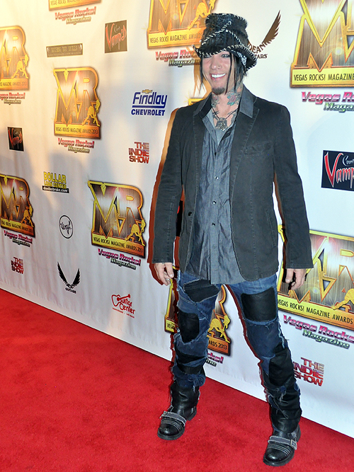 DJ Ashba Vegas Rocks Magazine Awards 2013 Hard Rock Hotel 26068