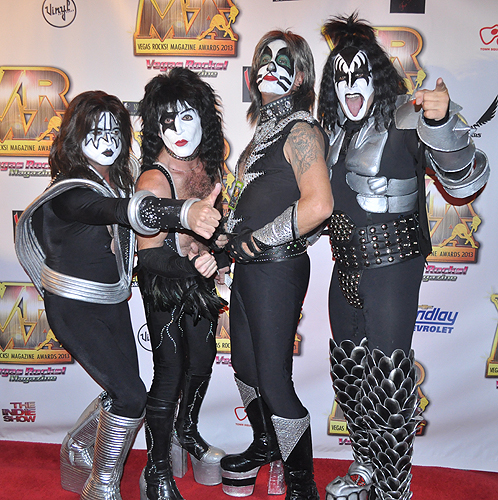 Platinum Kiss Vegas Rocks Magazine Awards 2013 Hard Rock Hotel 26276