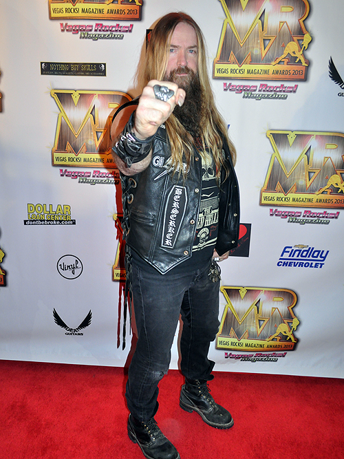 Zakk Wylde Vegas Rocks Magazine Awards 2013 Hard Rock Hotel 26086