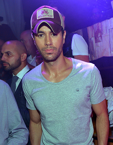 Enrique Iglesias hosts Mexican Independence Day celebration at Hyde Bellagio - 9.14.13