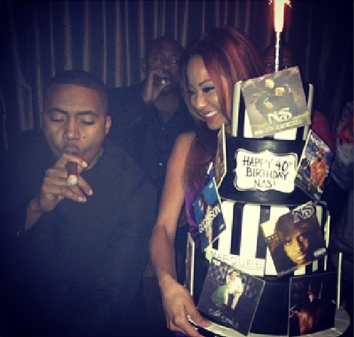 Nas Birthday Cake Marquee Nightclub