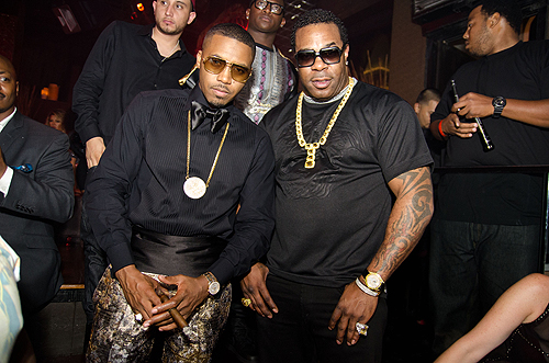 Nas and Busta Rhymes TAO Nightclub