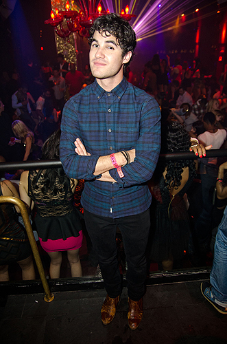 Darren Criss TAO Nightclub