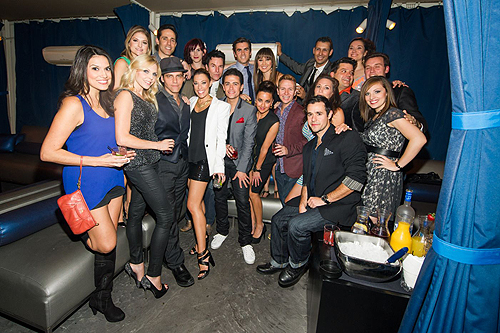 Jersey Boys Cast PURE Nightclub