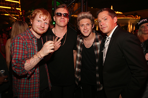 09.20 Ed Sheeran Macklemore Niall Horan and Jesse Waits XS