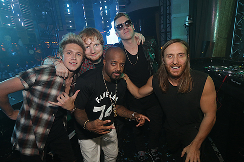 09.20 Niall Horan Ed Sheeran Jermaine Dupri Macklemore and David Guetta XS