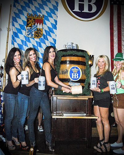 Fantasy Girls Keg Tapping Oktoberfest 2014 Final sm