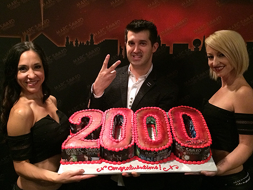 Marc Savard 2000th Show