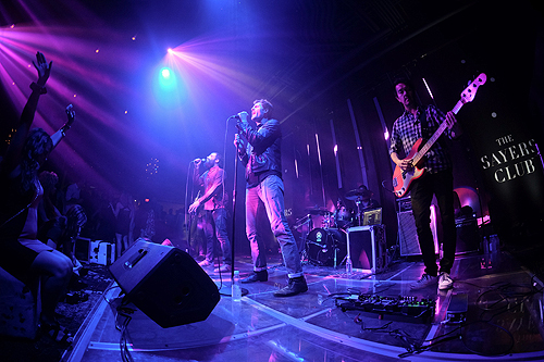 The Sayers Club welcomed a special performance by Capital Cities Powers Imagery