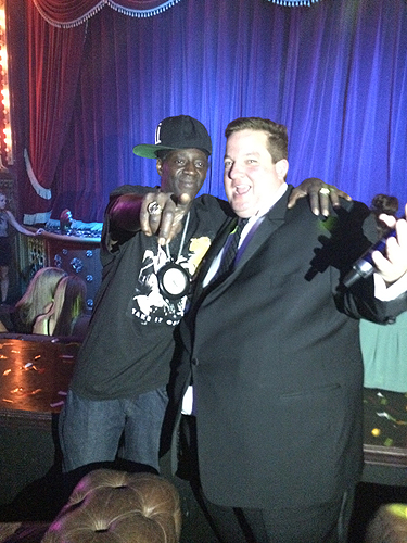 Flavor Flav and Jeff Beacher