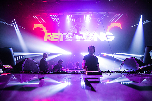 Pete Tong LiFE hires Powers Imagery