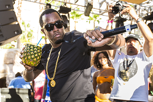 Puff Daddy at REHAB 2