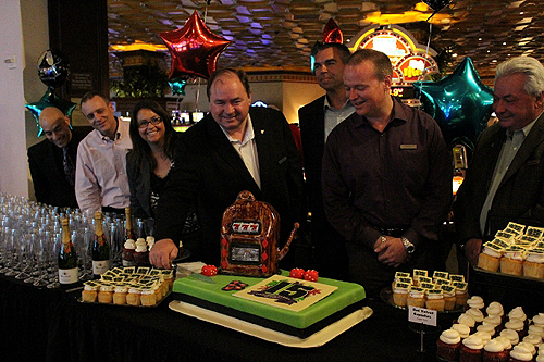 10.10.14 Rampart Casinos General Manager Michael Gaughan Jr. Kicks off 15-Year Celebration