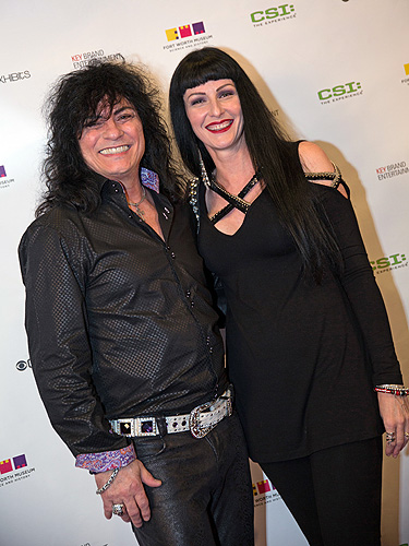 Paul and Carmen Shortino at CSI The Experience 5th Anniversary