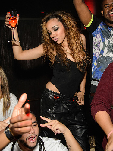 Tinashe Dancing at TAO Nightclub