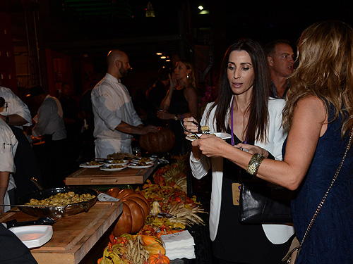 Guests Enjoy Food at Dine-Around
