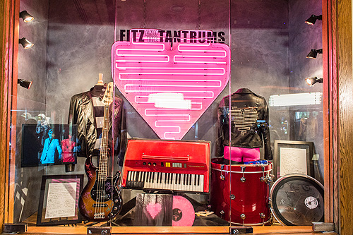 Fitz and The Tantrums Memorabilia Hard Rock Hotel 7