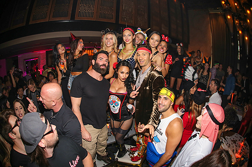 Dan Bilzerian at LAVO Party Brunch