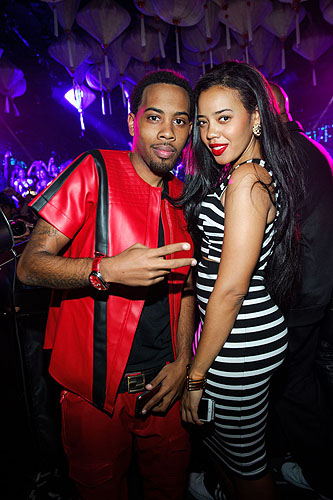 JoJo and Angela Simmons Hakkasan Ling ling Club