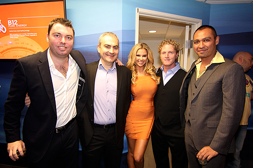 REVIV owners German Kaupert Dr Ranaan Pokroy Dr Andrew Garff and Dr