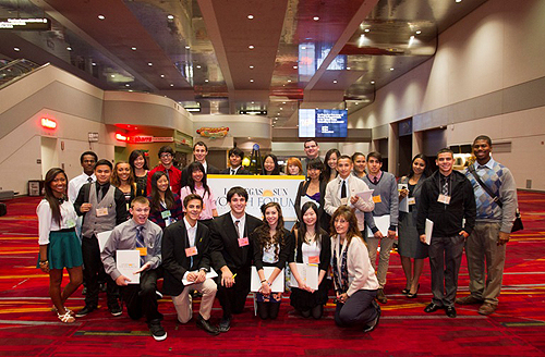 Students Gather at 2012 Las Vegas Sun Youth Forum