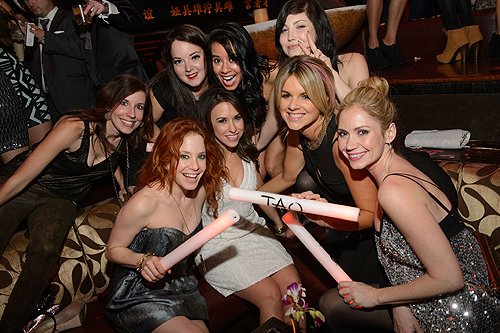 Amy Davidson Lacey Chabert Ali Fedotowsky Friends TAO Nightclub