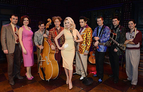 Holly Madison Guest Performance at Million Dollar Quartet at Harrahs Las Vegas Denise Truscello 6