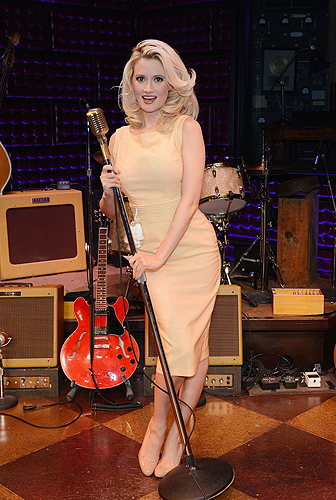 Holly Madison Guest Performance at Million Dollar Quartet at Harrahs Las Vegas Denise Truscello 8