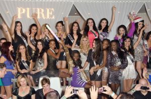 PURE Nightclub Miss Universe Contestants