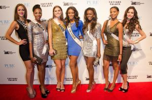 PURE Nightclub Miss Universe Red Carpet