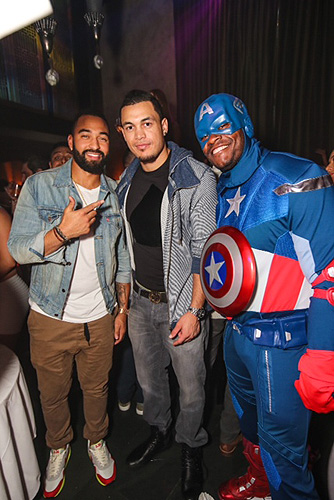 Matt Kemp  Giancarlo Stanton at LAVO Brunch