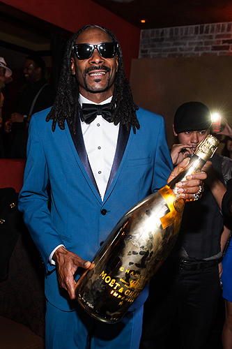 Snoop TAO NYE 2015 Shine Bright Moet