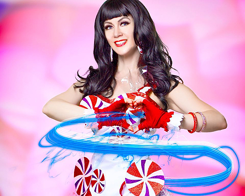 Nellie Norris as Katy Perry by Denci Freeri