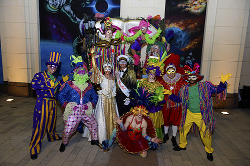 Mardi Gras Celebrations at The LINQ Credit BRYAN STEFFY 5