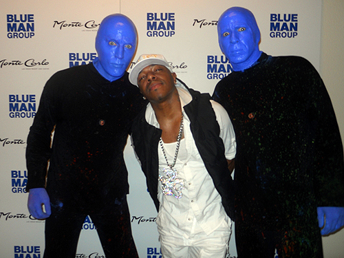 3.1.15 SisQo at Blue Man Group in Monte Carlo Resort and Casino