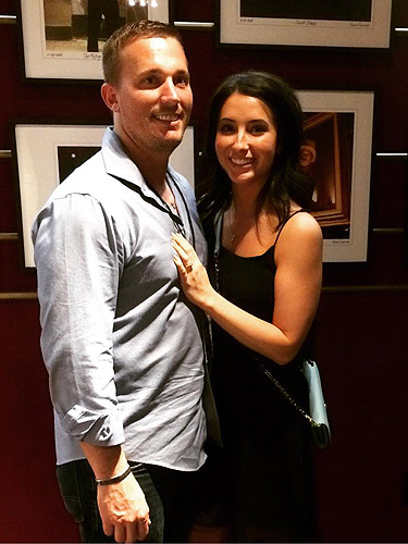 Dakota Meyer and Bristol Palin at The Joint Photo Credit Dakota Meyers Instagram