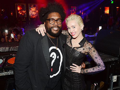 Miley Cyrus Questlove Heart of OMNIA