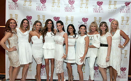 Friends of the Shade Tree Committee on the Red Carpet at Girls Night Out