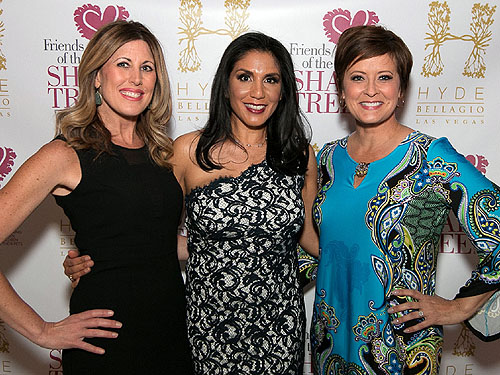 Kim Wagner Lynda Moore and Denise Valdez on the Red Carpet at Girls Night Out