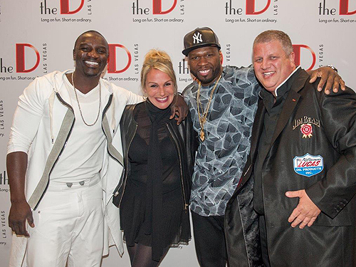 Akon Nicole Parthum 50 Cent Derek Stevens Photography by Tom Donoghue