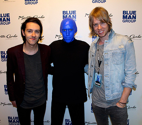 6.9.15 Lifehouse at Blue Man Group at Monte Carlo Resort and Casino