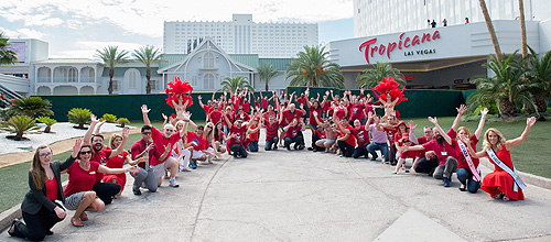 Golden Rainbow Creates Living Ribbon at The New Tropicana Las Vegas 2 WEB RES