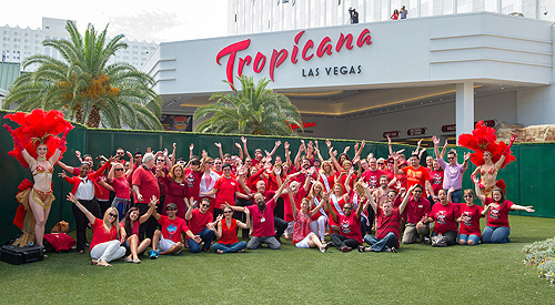Golden Rainbow Creates Living Ribbon at The New Tropicana Las Vegas 3 WEB RES