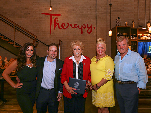 Therapy Owners and Mayor