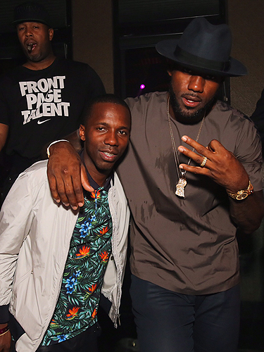 Lebron James and friends spotted at TAO Saturday night 7.18.15