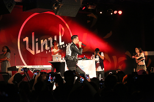 G-Eazy and Kehlani at Vinyl 2