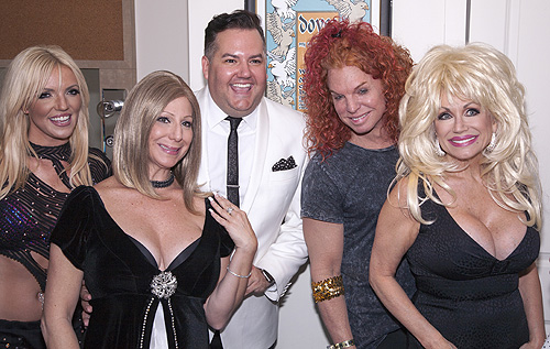 Ross Mathews Carrot Top Legends in Concert credit David Carter