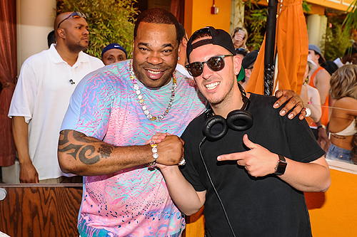 Busta Rhymes at TAO Beach